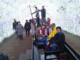 御殿場高原ビール|光のトンネル