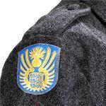 シビリアン軍の紋章刺繍