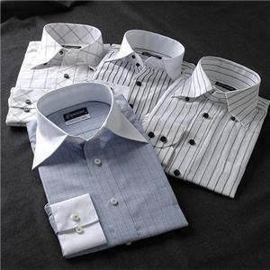 こだわりドレスシャツ4枚セット
