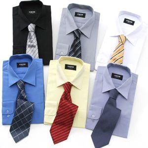 ワイシャツ6枚(ネクタイ6本、ソックス6足付)激安セット